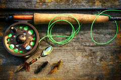 fly-fishing reel